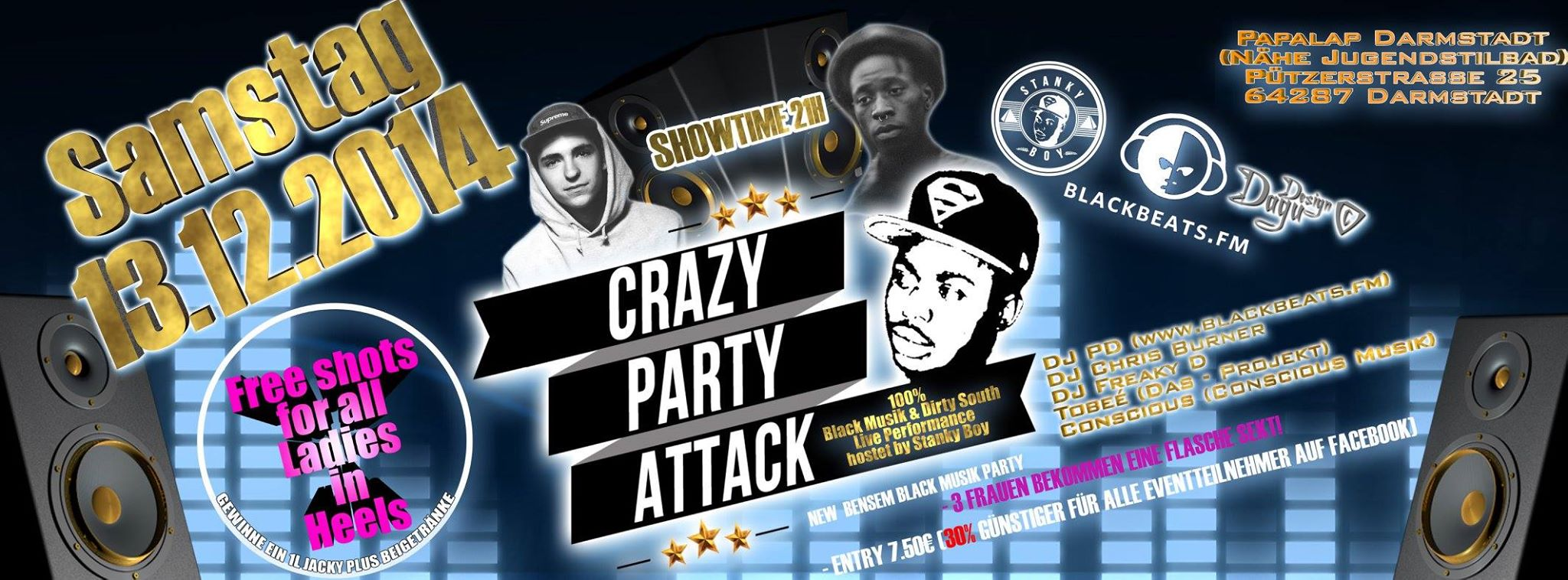 Crazy Party Attack
