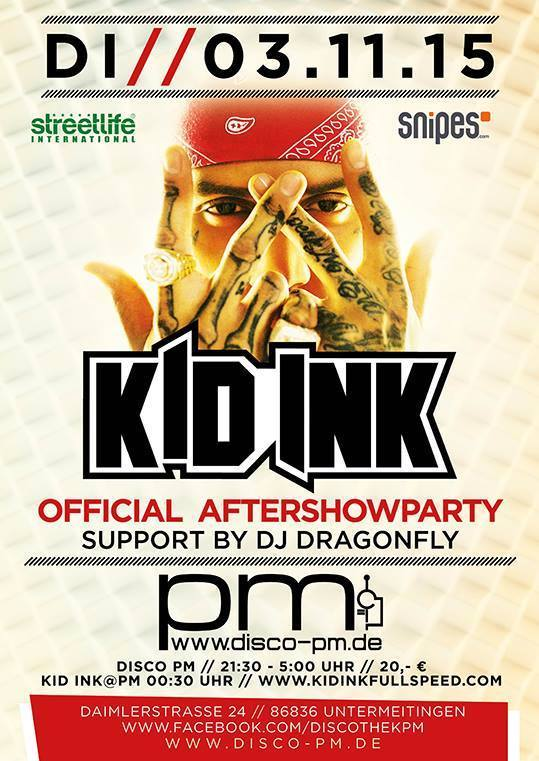 Kid Ink Aftershow Party