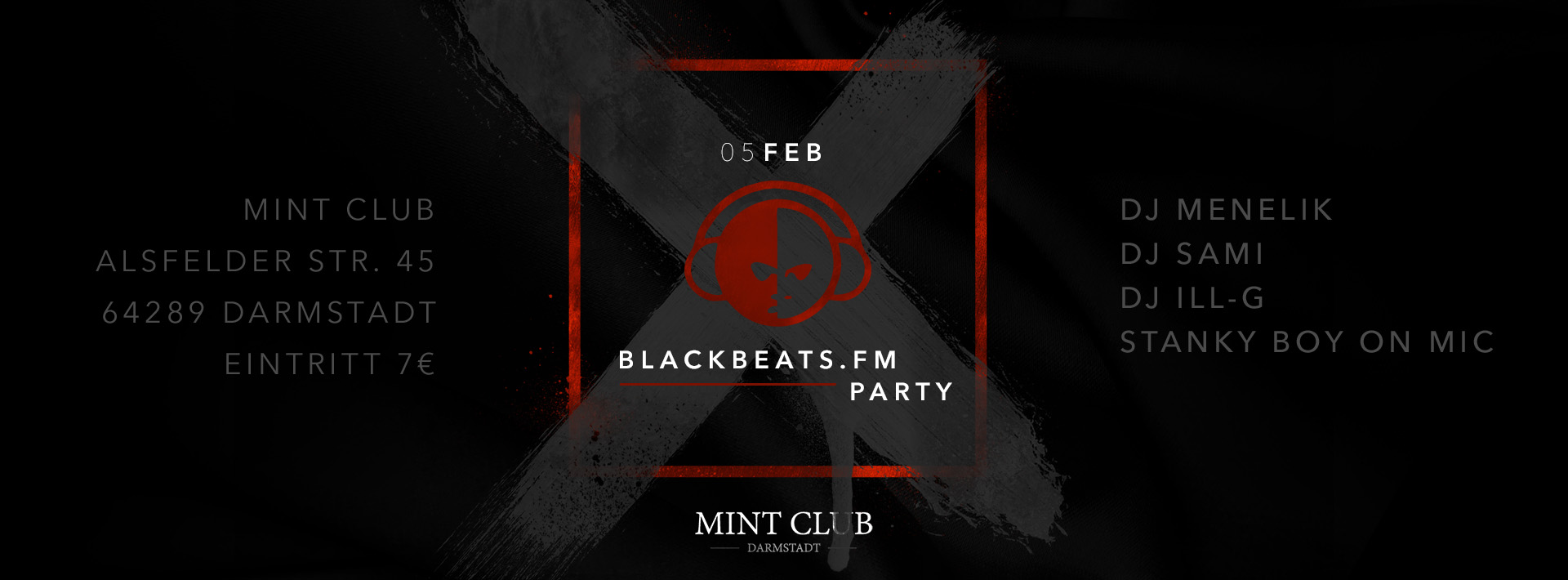 Blackbeats.fm @ MINT CLUB DARMSTADT